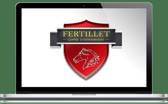 Réalisations site Internet pour écuries Fertillet