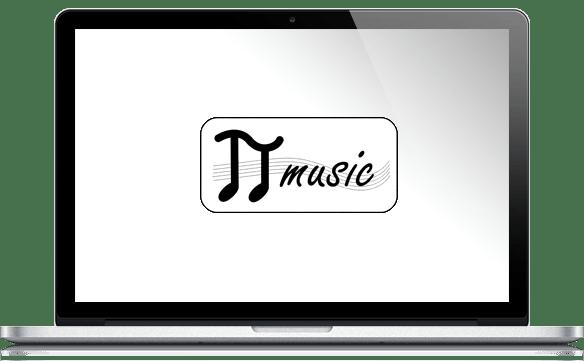 Réalisations site Internet pour Pi Music
