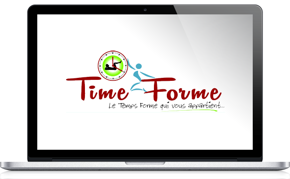 Réalisations site Internet pour Time Forme