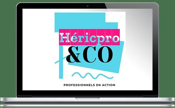 Réalisations site Internet pour Héric Pro et Co
